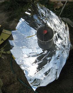 Compound Parabolic Solar Cooker
