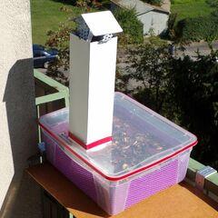 10) Séchoir en action sur le balcon