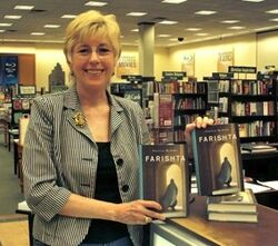 Pat McArdle bookstore photo 7-11