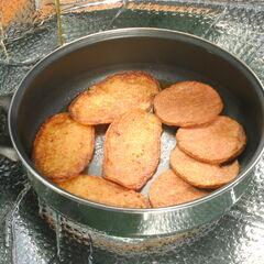 4) Galettes de pommes de terre et hamburgers 0,6 kg
