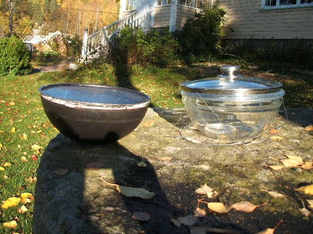23.10.05 gryte og glassbolle med glasslokk