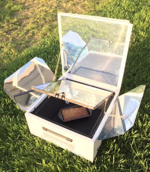 UGLI Hybrid Solar Electric Oven, 2-22-18