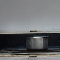 Solar Oven K6 rear door (open)