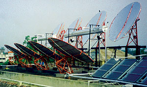 Solar steam system