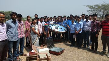 A Demonstration on Solar cooker performance