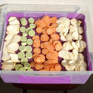Légumes avant séchage