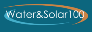 Water&Solar100 logo, 3-29-17