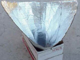 Solar Funnel Cooker