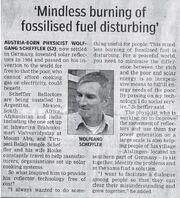 Scheffler-Hindustani Times 2008