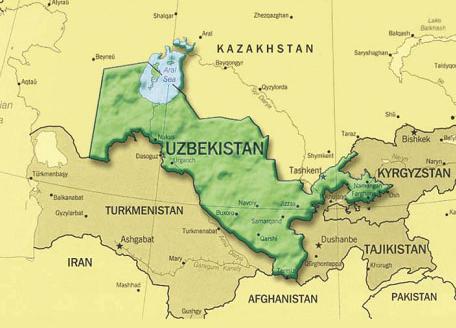 Image Map Uzbekistanpng Solar Cooking FANDOM Powered By Wikia - Uzbekistan map png