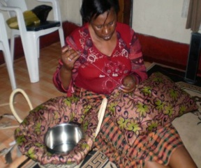 Solar Cooking Project Zambia hay baskets