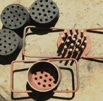 Honeycomb biomass briquette
