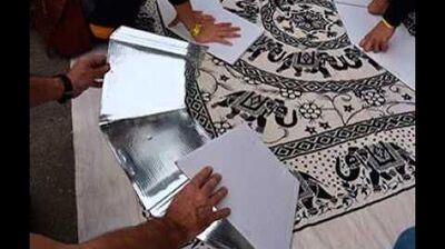 Cocina solar booix montaje