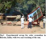 Solar crematorium 2006