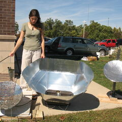Heather D. built and compared three different styles of cookers.