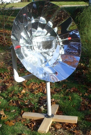 EB800D Solar Cooker, 1-14-16
