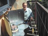 Cuiseurs solaires en pare-soleil