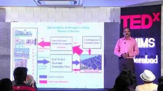Urban Innovation Solar Power Dr. Ajay Chandak TEDxNMIMSHyderabad