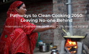 Ireland clean cooking conference, 30-13, May, 2019