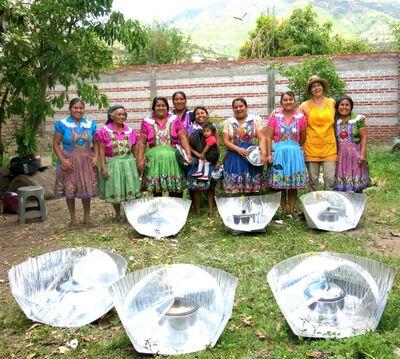 Cocineros Solares January 2020 San Miguel Del Valle, Mexico