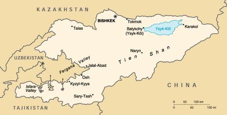 Kyrgyzstan map, 12-30-15