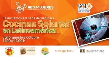 Red Mujeres webinars July 2017