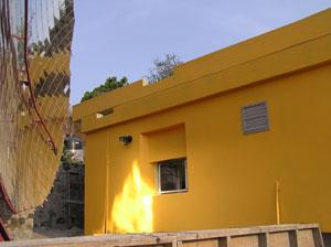Solar Dish Kitchen