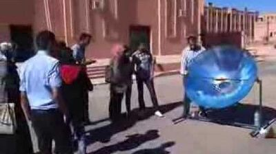 Tagine solaire dans un cuiseur solaire à Ouarzazate par Solarama(maroc-solaire.com)
