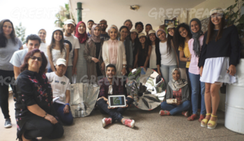 Greenpeace solar cooking workshop for trainers in Casablanca, Morocco, 7-17