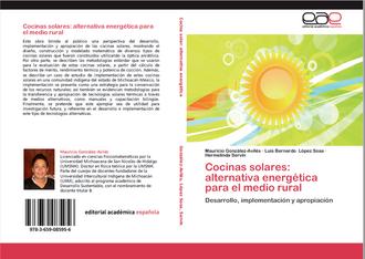 Cocina Solar, alternativa energética sustentable - Sosa