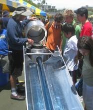 Blazing Tuve Solar Appliance demo