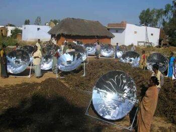 Smoke-free village from Gadhias 2009