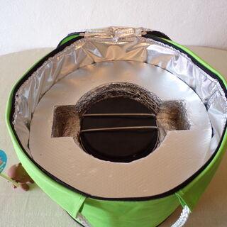 Thermos avec pot solaire