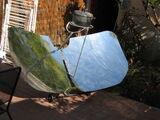 """Four solaire parabolique """"papillon"""""""