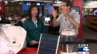 KOMO4 News Solar in Seattle