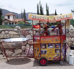 Kiosco SOLAR cart, 2-27-13