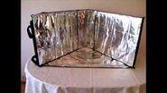 Notre cuiseur solaire EuroSolarCooker Star, part 1, Construction - Concept de la Cuisson Solaire