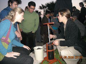 Briquette press 2010
