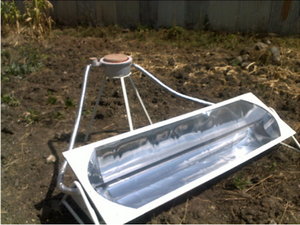 Remote Solar Cooking System3 08-18