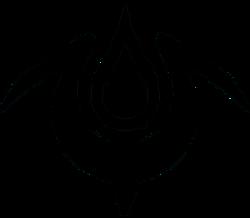 Belkan Emblem in Black