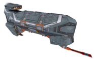Fire Lance-class Ion Cannon Corvette