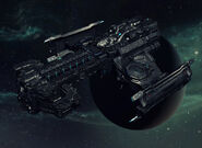 Hyperion battlecruiser by goreface13-d5qdery