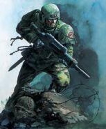 Imperial Guard Soldier vigilant