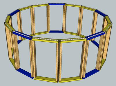 Solarium Base Design