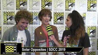 Mary Mack & Sean Giambrone Solar Opposites SDCC 2019