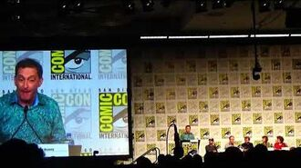 Solar Opposites Tom Kenny Intro with Justin Roiland at Comic Con 2019