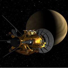 First Venus Flyby