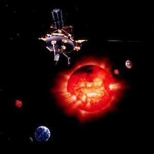 Ulysses probe