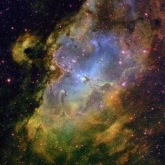 Eagle Nebula.