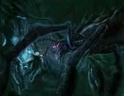 Melkor morgoth vs ungoliant by jossand-d4mso3r